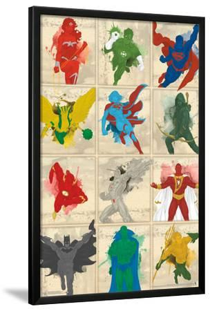 Justice League- Simplistic Grid