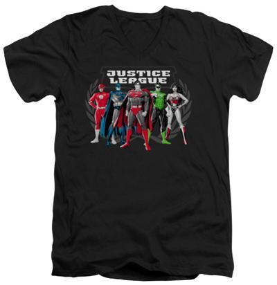 Justice League - The Big Five V-Neck