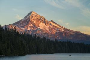 Lost Lake Near Mount Hood, OR by Justin Bailie