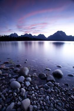 Scenic Image Of Jackson Lake In Grand Teton National Park, WY by Justin Bailie