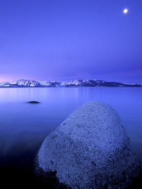 Scenic Image of Lake Tahoe, Ca. by Justin Bailie