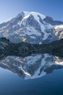 Scenic Image of Mt. Rainier National Park, Washington by Justin Bailie