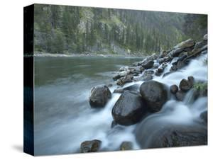 Scenic Image of Salmon River, Idaho. by Justin Bailie