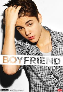 Justin Bieber Boyfriend Music Poster