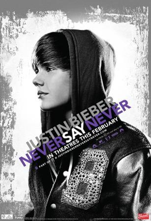 Justin Bieber Never Say Never Music Poster