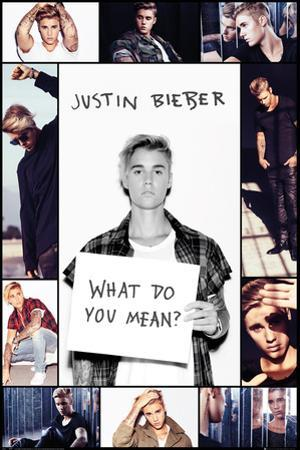 Justin Bieber- What Do You Mean Collage