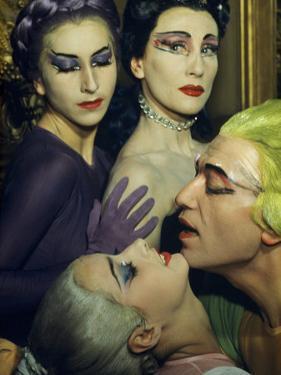 Ballet Dancers Appear in a Love Scene from Phedre by Jean Cocteau by Justin Locke