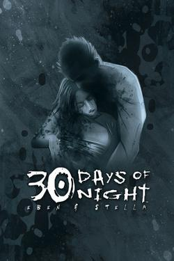 30 Days of Night: Eben & Stella - Cover Art by Justin Randall