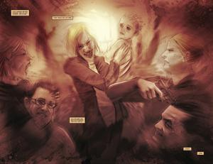 30 Days of Night: Eben & Stella - Page Spread by Justin Randall
