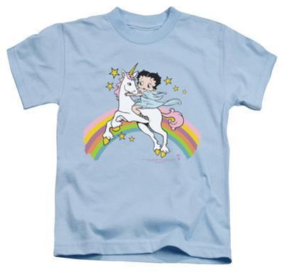 Juvenile: Betty Boop - Unicorn & Rainbows