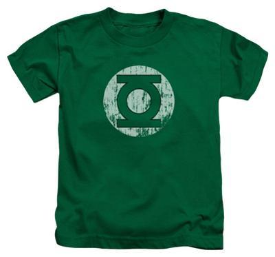 Juvenile: Green Lantern - Distressed Lantern Logo