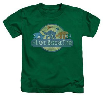 Juvenile: Land Before Time - Retro Logo
