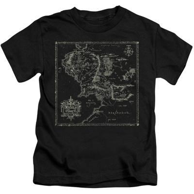 Juvenile: Lord Of The Rings- Middle Earth Map