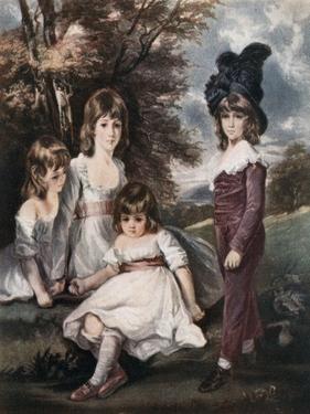 Juvenile Retirement, 18th Century by L Edwards