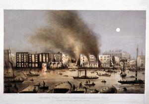Tooley Street, Bermondsey, London, 1861 by JW Anderson