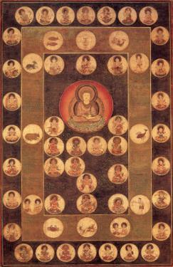 Buddha Circle by Jyakuchu Ito
