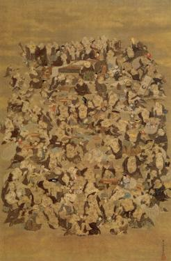 Hundred of Japanese Buddha by Jyakuchu Ito