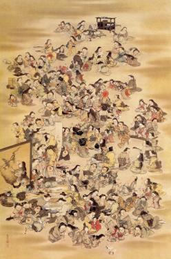 Hundred of Japanese Women by Jyakuchu Ito