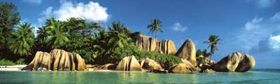 La Digue Island, Seychelles, Indian Ocean by K.H. Hanel