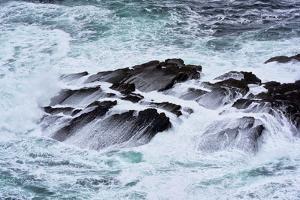 Ireland, Surf Rock in Kilkee, Irish Sea by K. Schlierbach