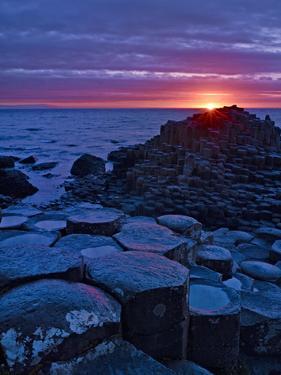 Northern Ireland, Basalt Giant's Causeway by K. Schlierbach