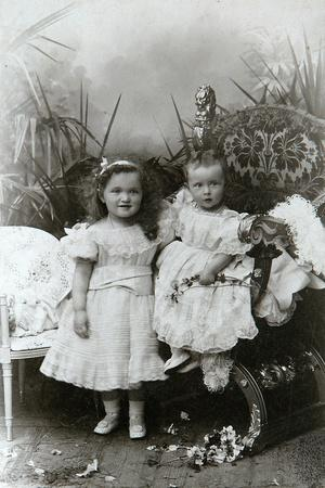 Grand Duchesses Olga Nikolaevna and Tatiana Nikolaievna of Russia, Late 19th Century