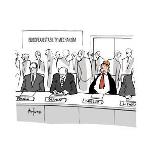 European Stability Mechanism - Cartoon by Kaamran Hafeez