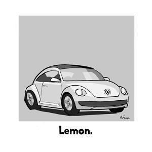 Lemon - Cartoon by Kaamran Hafeez