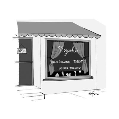 Psychic - Cartoon by Kaamran Hafeez