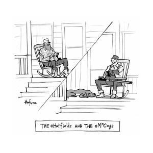 The @Hatfields and the @McCoys - Cartoon by Kaamran Hafeez