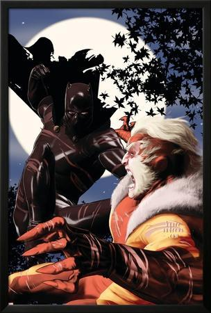 Black Panther No.7 Cover: Hulk and Sabretooth
