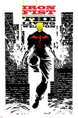 Iron Fist: The Living Weapon No. 4 Cover