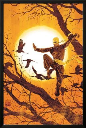 The Immortal Iron Fist No.27 Cover: Iron Fist