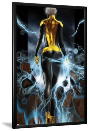 Ultimate Comics X-Men No.10 Cover: Storm Walking