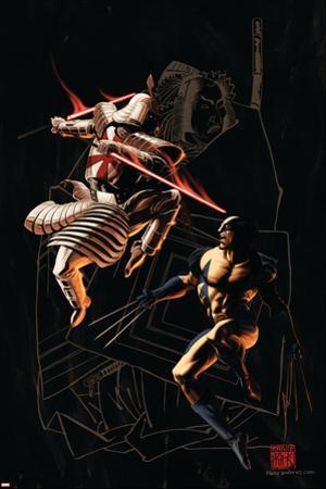 Wolverine No.37 Cover: Wolverine and Silver Samurai