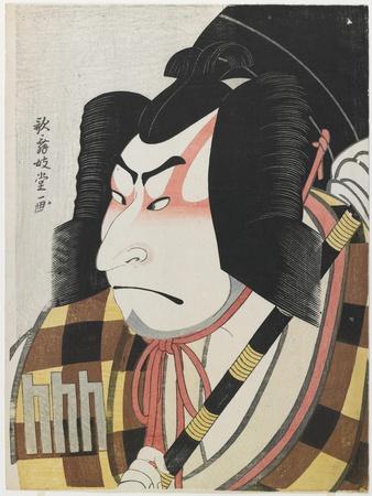 Nakamura Nakazo II as Matsuomaru, 1796