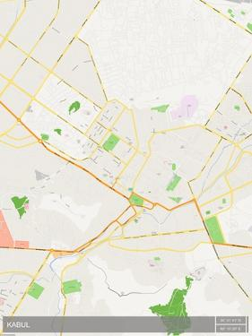 Kabul, Afghanistan Map