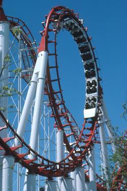Loop Section of a Rollercoaster Ride by Kaj Svensson