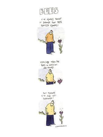BEES - New Yorker Cartoon