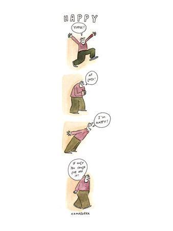 HAPPY - New Yorker Cartoon