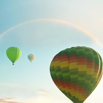 Balloons on Festival