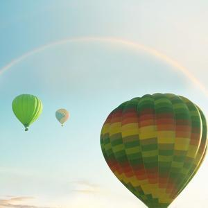 Balloons on Festival by Kamchatka