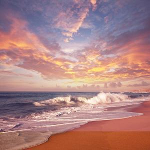Sea Sunset by Kamchatka