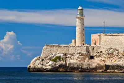 The Famous Fortress and Lighthouse of El Morro in the Entrance of Havana Bay, Cuba by Kamira