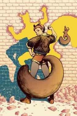 The Unbeatable Squirrel Girl No. 6 Cover Featuring Squirrel Girl, Tippy-Toe by Kamome Shirahama
