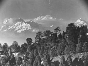 Kanchenjunga Mountain
