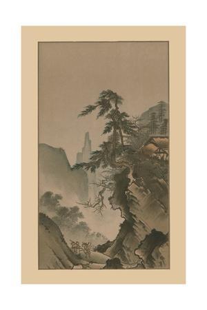 Chinese landscape, 16th century, (1886)