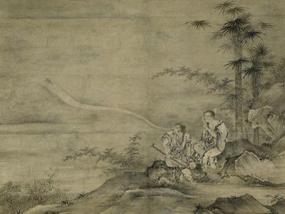 Genii Gama Sennin and Tekkai Sennin, Second Half of The16th C