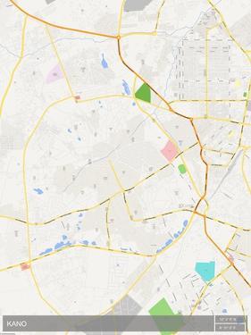 Kano, Nigeria Map