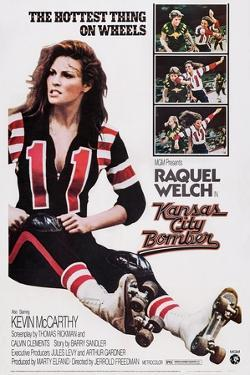 Kansas City Bomber, Raquel Welch, 1972